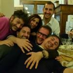 Foto di gruppo con Pasquale Torrente e Alessandro Frassica