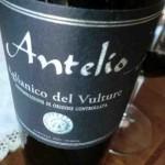 Antelio 2007 Aglianico del Vulture doc