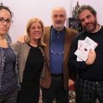 Da sinistra Francesca Bacile, Francesca Tamburello, Salvatore d'Agostino e Giovanni Gagliardi