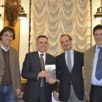 Nicola Fiorita, il prefetto Antonio Reppucci, Giuseppe Costabile e Luciano PIgnataro