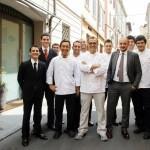 Massimo Bottura, Peppe Palmieri e tutto lo staff
