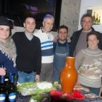 una foto ricordo con i titolari, Manuel Liliana e Tommaso