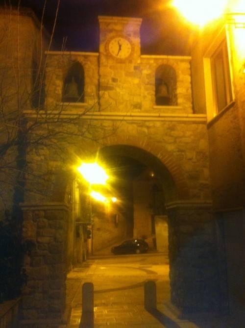 Arco dell'orologio, scorcio di Trentinara