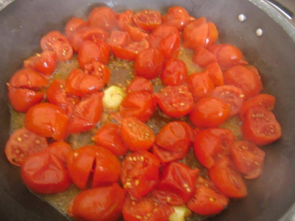 Spaghetti al pomodorino del piennolo