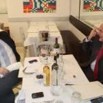 Renzi e Bersani attovagliati con 4 (quattro) bottiglie!