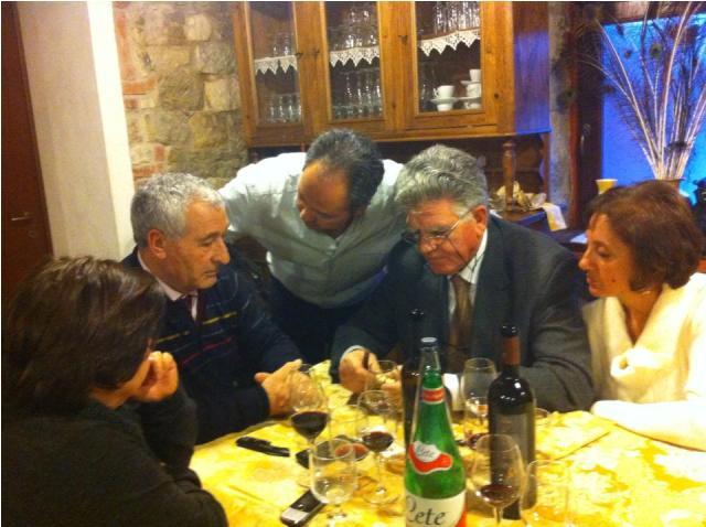 Angelo Pizzi con Michele Giordano e Angelo Melillo