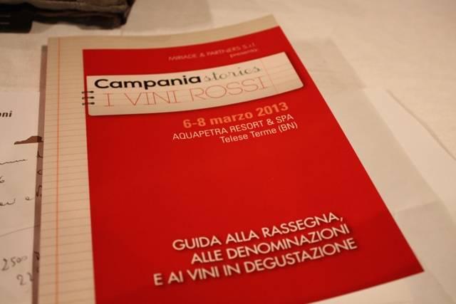 Il viaggio tra i rossi di Campania stories