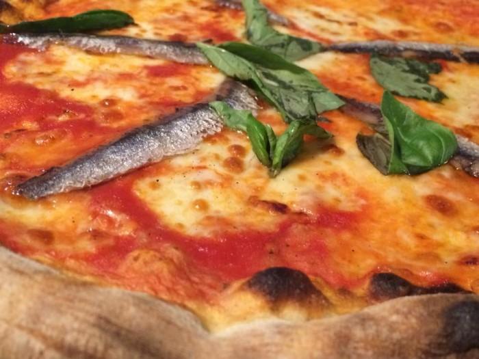 I Magnifici, la pizza Napoli
