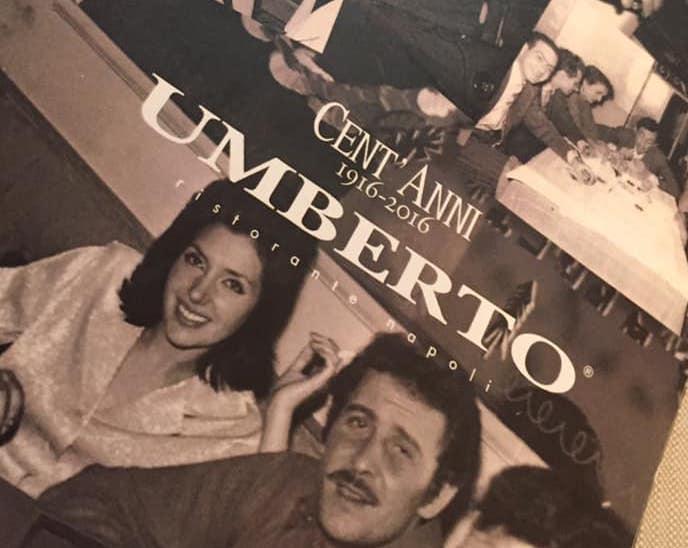 da Umberto, il menu