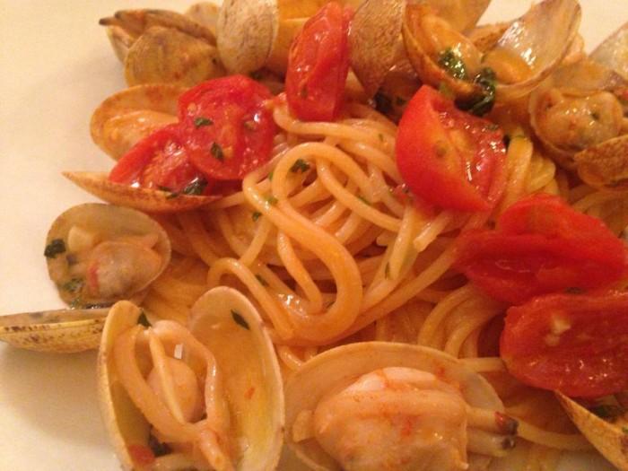 Mimi' alla Ferrovia, lo spaghetto ai frutti di mare