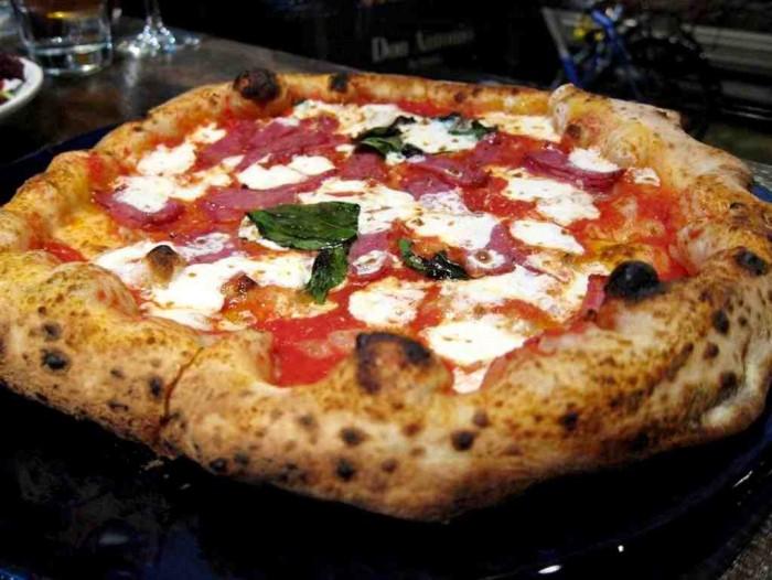 Pizza margherita Antonio Starita