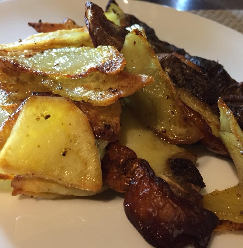 Piazzetta del Sole, Porcini e patate