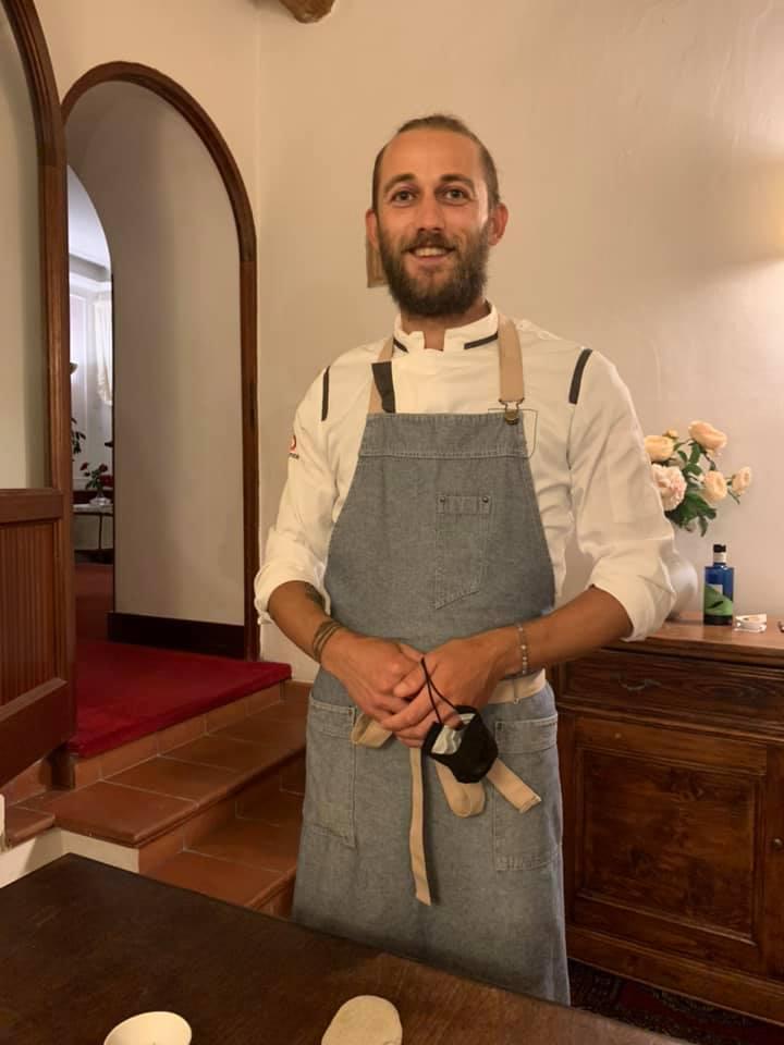Sabato Lattanzi in cucina cn Frederik Lasso e Attilio De Santis, in sala Giovanni Angelozzi, sommelier Maurizio Neri