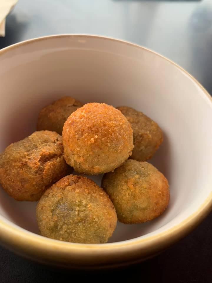 Zuniche, olive ascolane come aperitivo