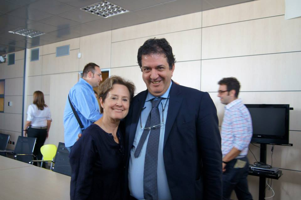Con Alice Waters a Caserta