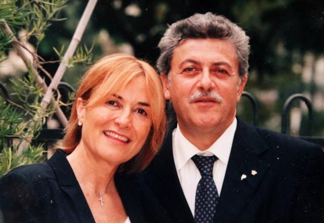 Livia e Alfonso in una foto ufficiale di qualche tempo fa