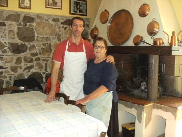 Zì Filomena, Mario Pellegrino con la madre Maria Grazia