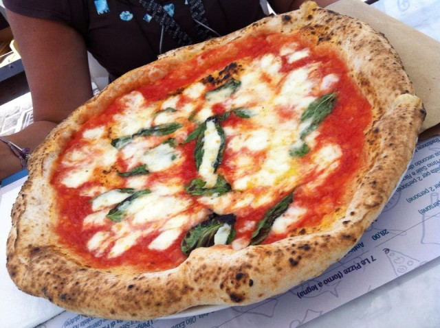 Pizza antica Margherita