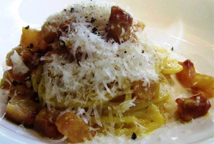 Spaghetti alla carbonara Luciano Monosilio