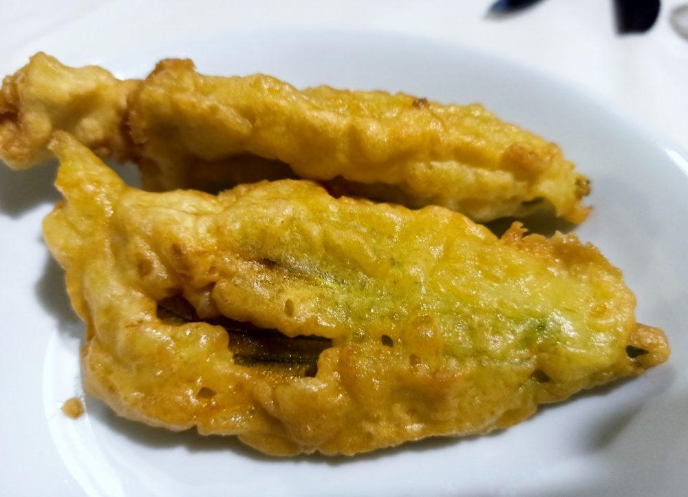 Le Cocole - Antipasto - I fiori di Zucca pastellati e fritti