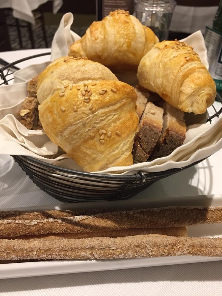 CIBO, pane e grissini