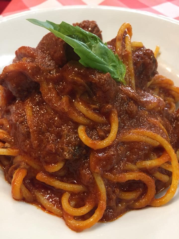 Tandem, ragu' con gli spaghetti