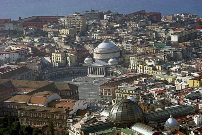 una vista di Napoli