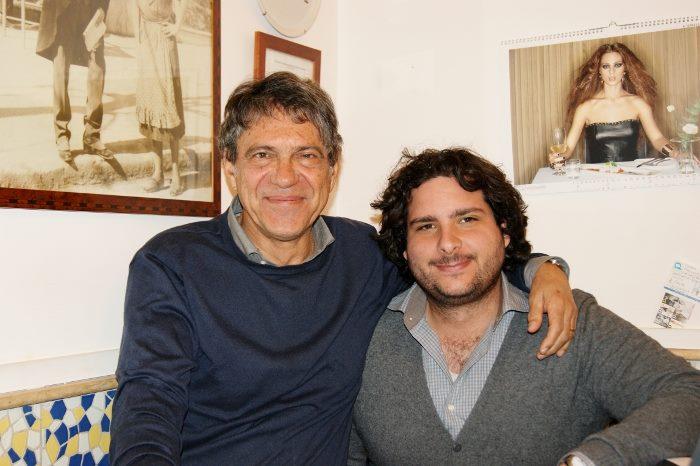 Pizzeria Gorizia di via Bernini, Salvatore Antonio Grasso con il figlio Salvatore