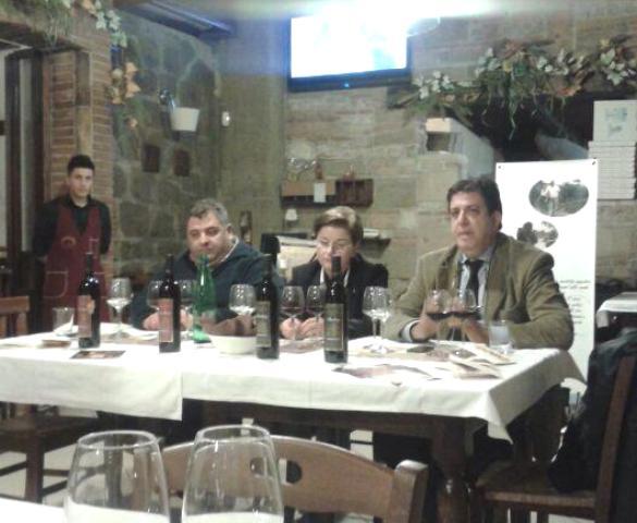 Tavolo dei degustatori