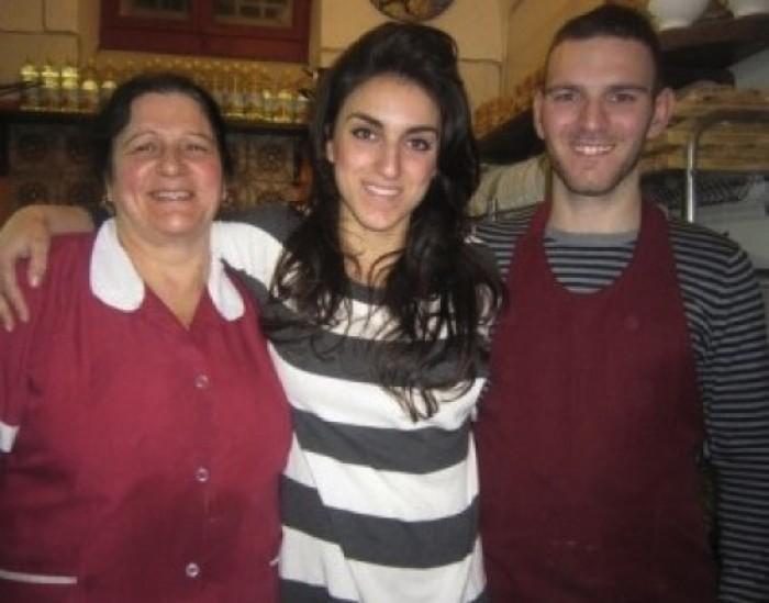 La Mattonella, la famiglia Marangio