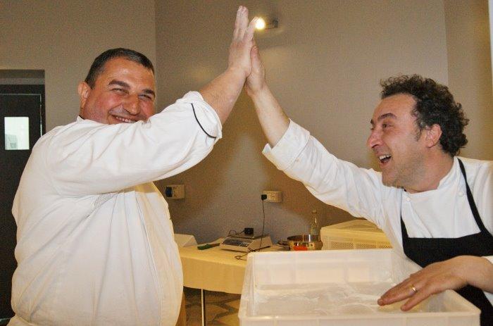 Michele Leo e Lino Scarallo