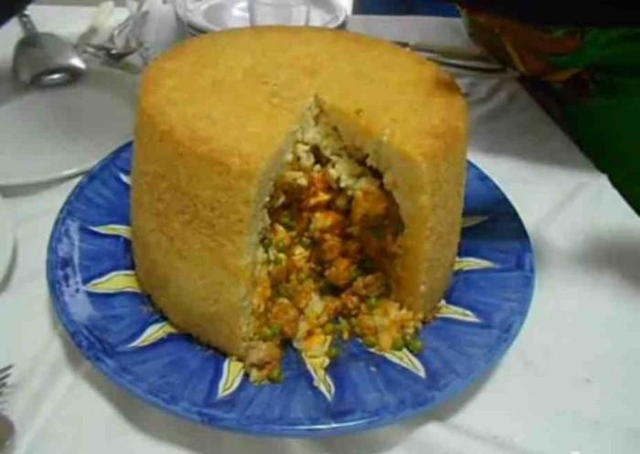 Il sartù di riso napoletano