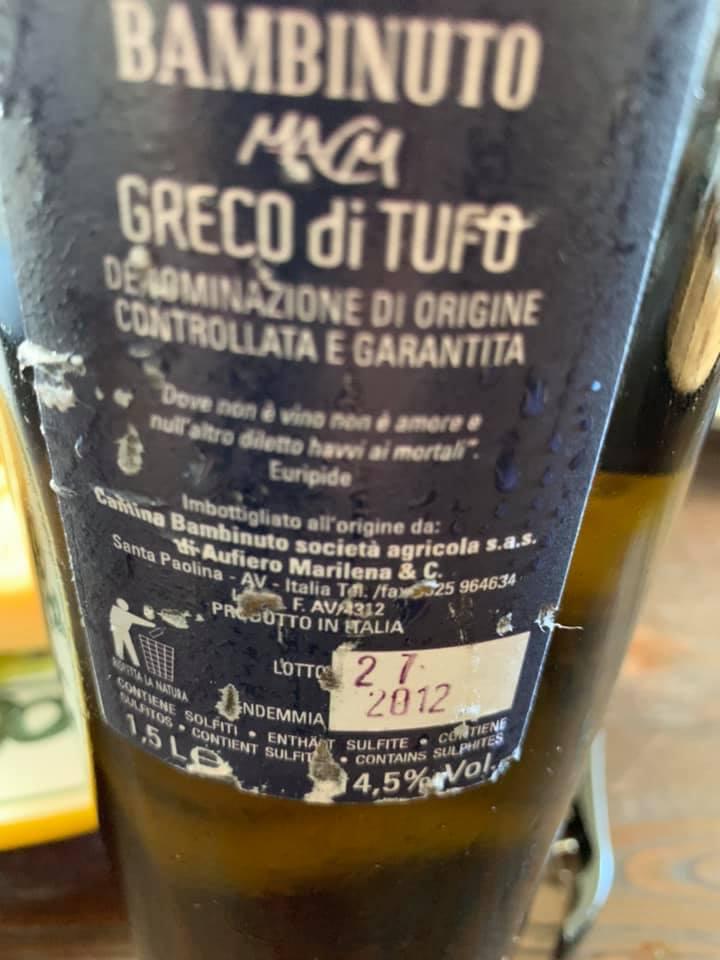 Picoli 2012 Greco di Tufo