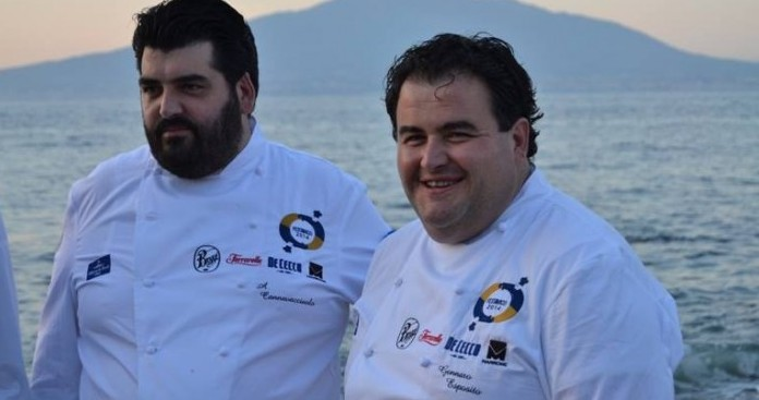Antonino Cannavacciuolo e Gennaro Esposito