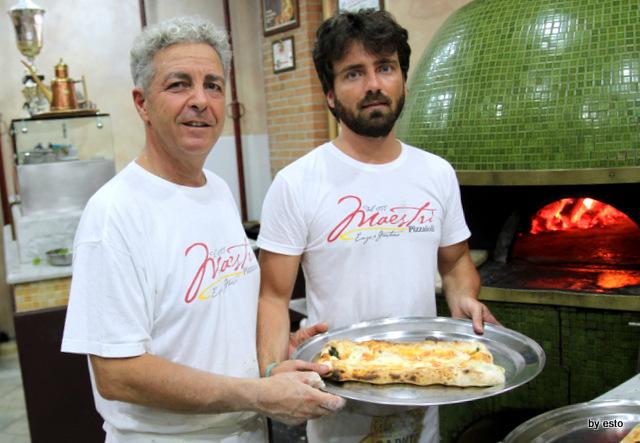 I Maestri Pizzaiuoli Enzo e Cosimo Abbate
