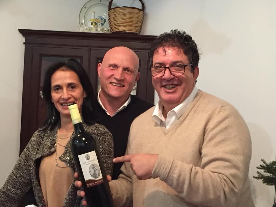 Colli di Lapio, con Carmela e Rino