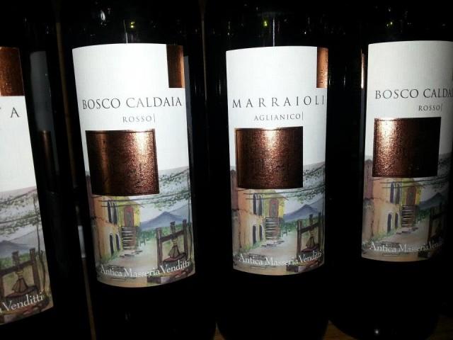 Solopaca rosso Bosco Caldaia