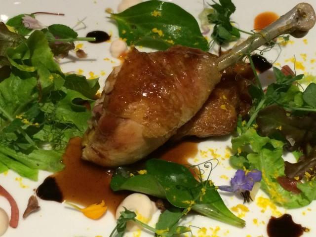 I Portici, il pollo di Bresse