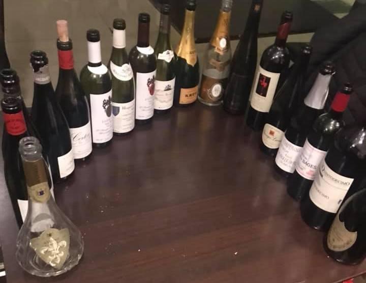 Vini bevuti il 3 gennaio al Line Wine Bar