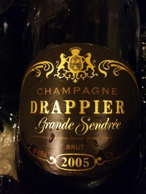 Champagne Drappier Grande Sendree Millesime Brut