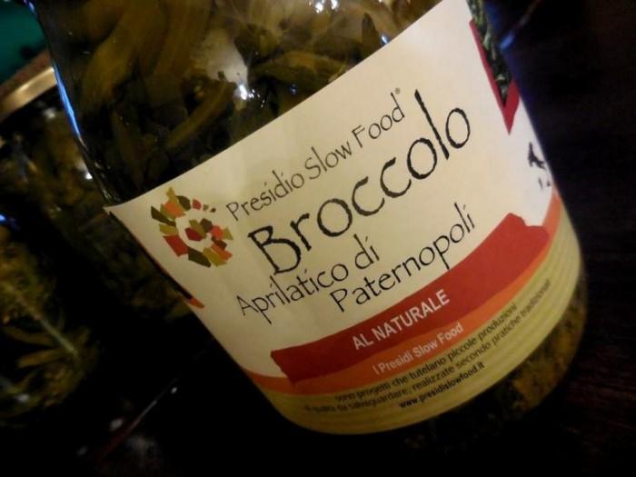 il Broccolo Aprilatico al naturale