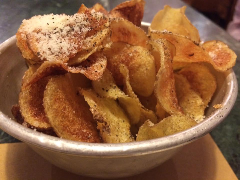 ProLoco Pinciano, chips cacio e pepe