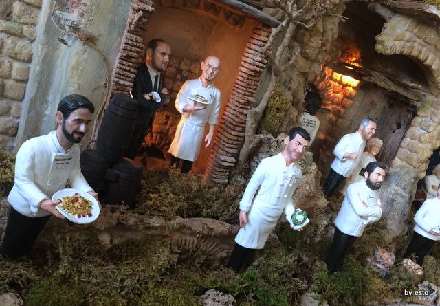 Casa Cortese. Il Presepe degli  chef