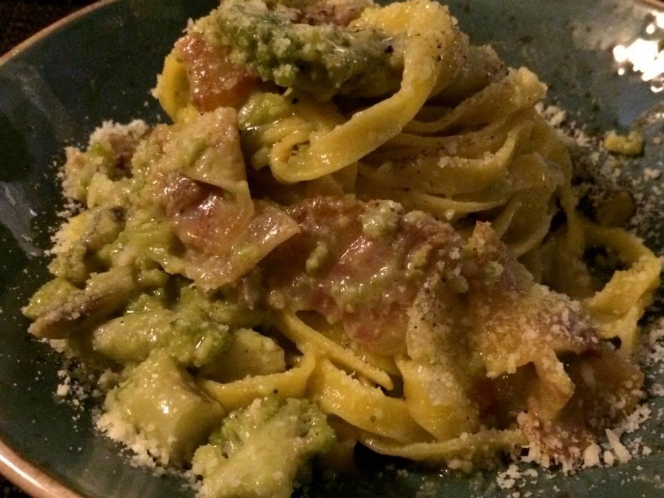 ProLoco Centocelle: fettuccine con broccolo romano e guanciale