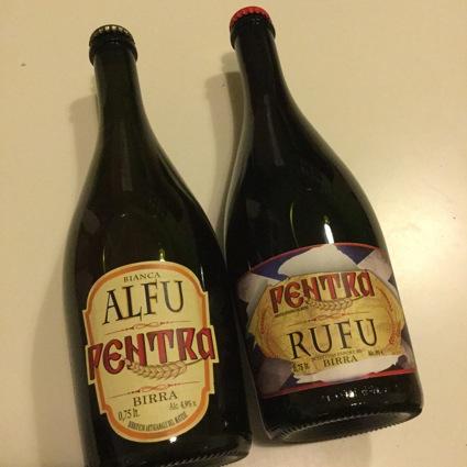 Birrificio Pentra: la Alfu e la Rufu
