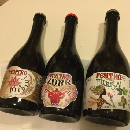 Birrificio Pentra: la Zurr, la Fluusai e la Piihiui