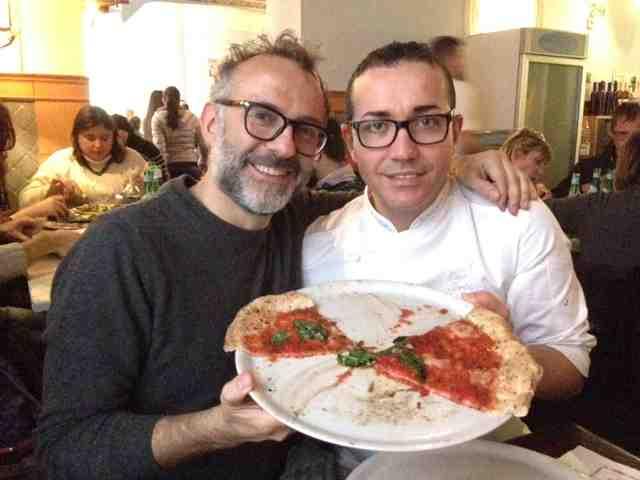 Massimo Bottura e Gino Sorbillo