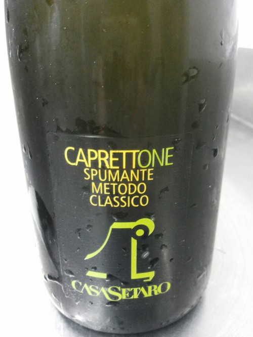 CaprettOne spumante metodo classico Casa Setaro
