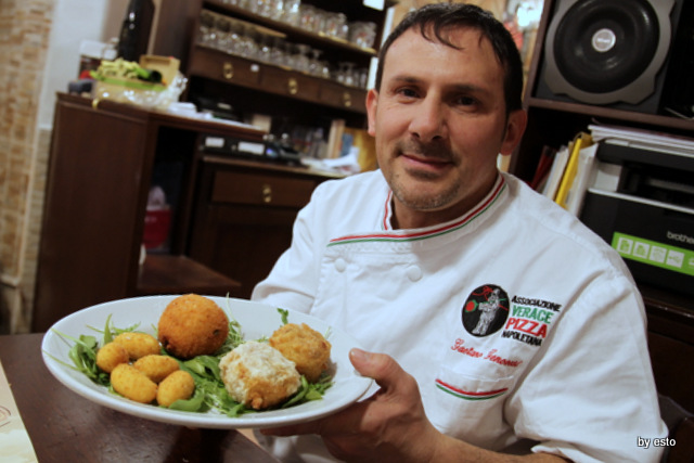 Gaetano Genovesi Solopizza. le fritture
