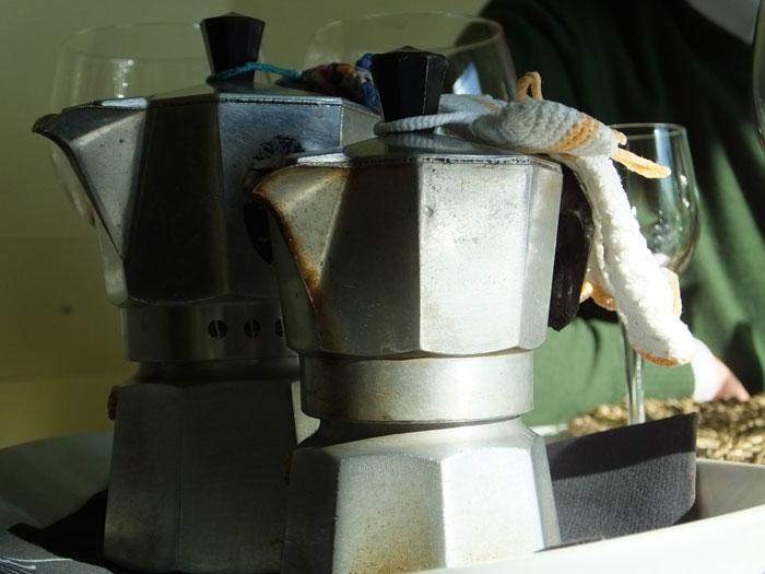 Agriturismo La Villa, il caffè